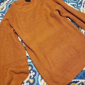 Burnt orange/pumpkin spice sweater